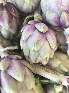 Artichoke purple and green
